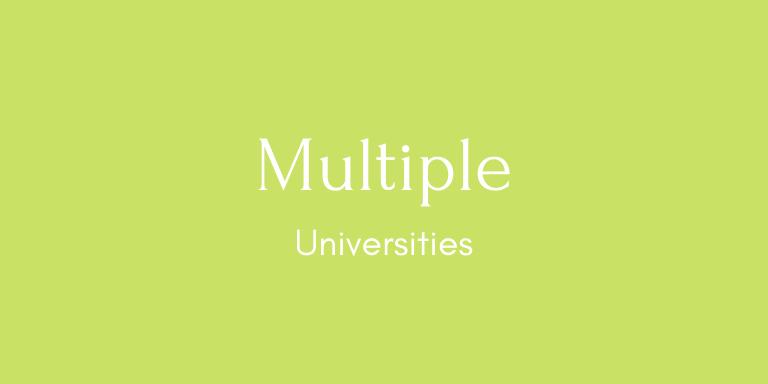 Multiple Universities